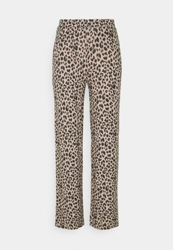 Pieces - PCPAM - Broek - warm taupe