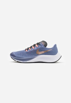 Nike Performance - AIR ZOOM PEGASUS 37 UNISEX - Neutrala löparskor - world indigo/metallic red bronze/dark smoke grey