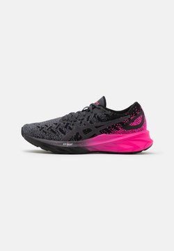 ASICS - DYNABLAST - Neutral running shoes - black/pink glow