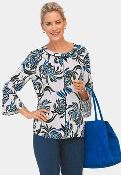 ATELIER GS - Bluse - weiß/gemustert