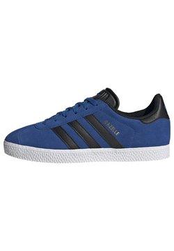 adidas Originals - GAZELLE - Joggesko - blue/core black/ftwr white