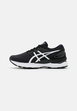 ASICS - GEL-NIMBUS 22 - Laufschuh Neutral - black/white