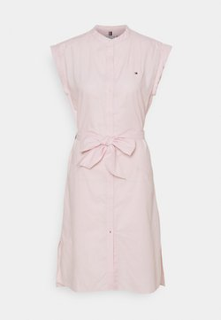 Tommy Hilfiger - OXFORD KNEE DRESS  - Vapaa-ajan mekko - light pink