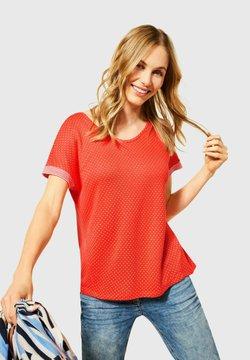Cecil - T-Shirt basic - orange