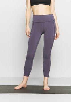 Sweaty Betty - SUPER SCULPT 7/8 YOGA LEGGINGS - Medias - fig purple