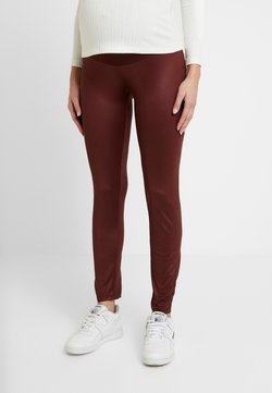 LOVE2WAIT - SHINNY - Legging - bordeaux
