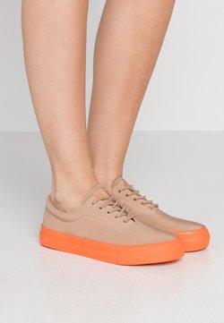 Polo Ralph Lauren - BRYN - Sneakers laag - khaki/dusk orange