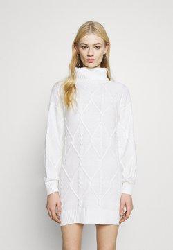 Hollister Co. - ECLECTIC DRESS - Neulemekko - white