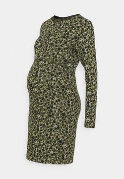 Supermom - DRESS  - Gebreide jurk - ivy green
