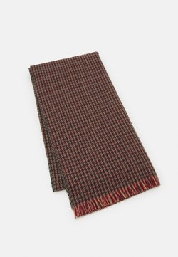 Hackett London - CHARLEY CHECK SCARF - Scarf - red/green