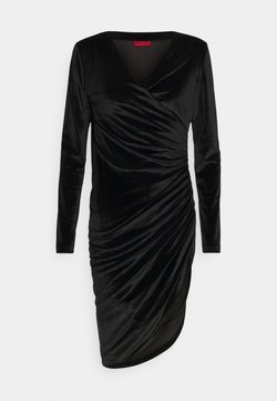HUGO - NELVETY - Cocktail dress / Party dress - black