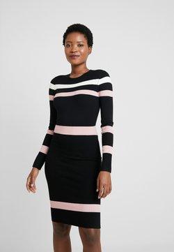 Anna Field - Vestido de tubo - black/pink/white
