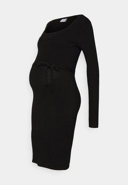MAMALICIOUS - MLJACINA NELL DRESS - Robe pull - black