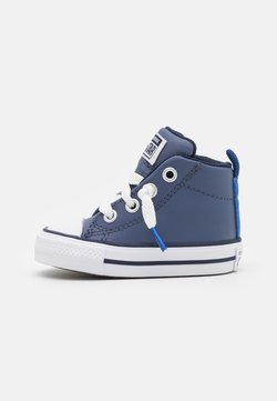 Converse - CHUCK TAYLOR ALL STAR STREET COLOR POP MID UNISEX - Baskets montantes - steel/game royal/white