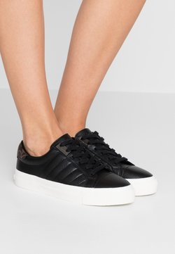 Calvin Klein - VANCE - Sneakers laag - black/brown