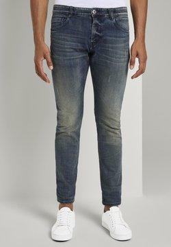 TOM TAILOR - Jeans Slim Fit - mid stone wash denim