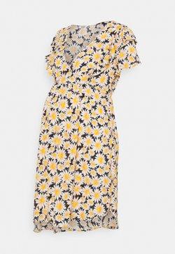 Cotton On - CROSS FRONT BABYDOLL DRESS - Kjole - black