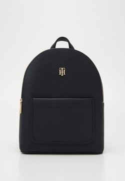 Tommy Hilfiger - BINDING BACKPACK - Reppu - blue