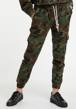 myMo - Pantalon de survêtement - green