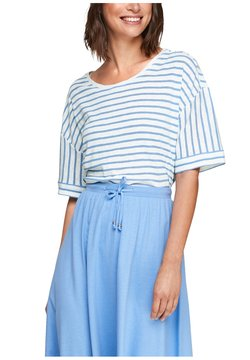 s.Oliver - T-Shirt print - blue stripes