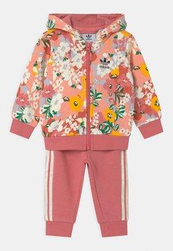 adidas Originals - HOODIE SET  - Verryttelypuku - pink/multi coloured