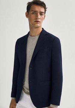 Massimo Dutti - Giacca elegante - blue-black denim