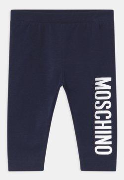 MOSCHINO - Legging - blue navy