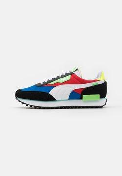 Puma - FUTURE RIDER PLAY ON UNISEX - Sneaker low - lapis blue/white/black
