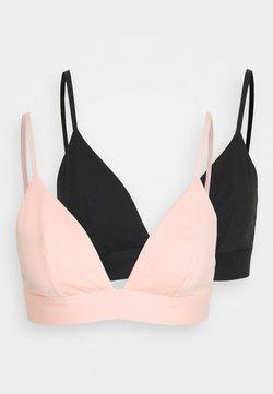 DORINA - 2 PACK - T-Shirt BH - pink/black