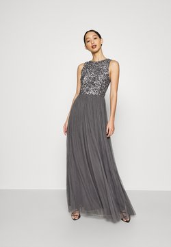 Lace & Beads - PICASSO MAXI - Ballkleid - charcaol