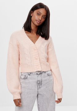 Bershka - Strickjacke - orange