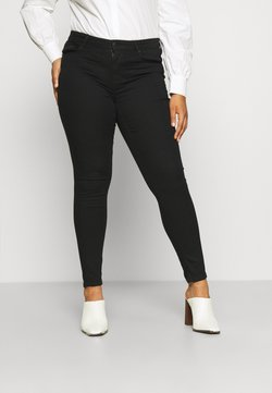 ONLY Carmakoma - CARHIRIS LIFEREG - Jeans Skinny - black