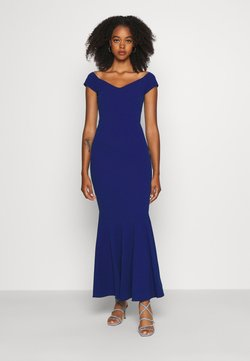 WAL G. - PLEATED HEM DRESS - Robe de cocktail - electric blue