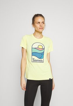 Patagonia - CAP COOL DAILY GRAPHIC - T-Shirt print - pineapple