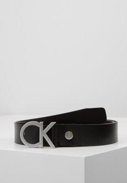 Calvin Klein - BUCKLE BELT - Gürtel - black