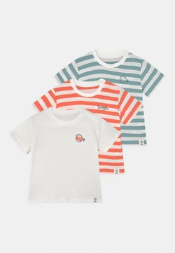 Marks & Spencer London - BABY FISH 3 PACK - T-shirt con stampa - ivory