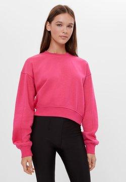 Bershka - Sweatshirt - neon pink