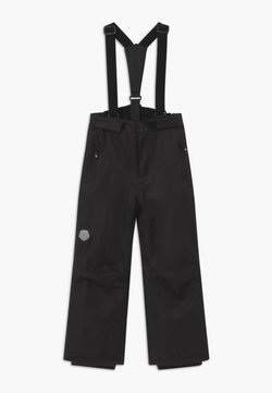 Color Kids - SKI PANTS SLIM - Talvihousut - black