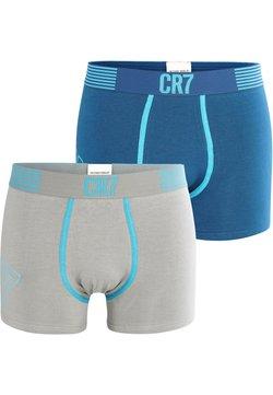 Cristiano Ronaldo CR7 - CR7 FASHION 2-Pack - Panties - graublau