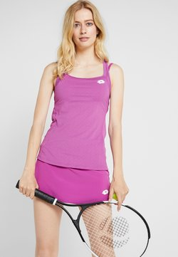 Lotto - TENNIS TECH TANK 2-IN-1 - Funktionsshirt - purple willow