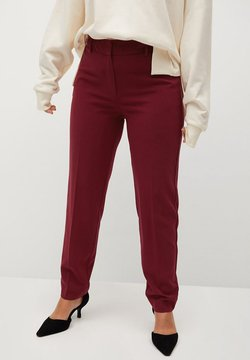 Violeta by Mango - XIPY7 - Pantalon classique - červené víno