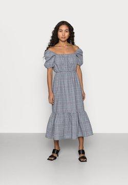 Missguided Petite - CHECK SMOCK DRESS - Freizeitkleid - multi