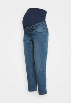 Forever Fit - STRAIGHT LEG CROP - Straight leg jeans - mid wash