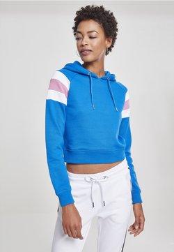 Urban Classics - DAMEN  - Kapuzenpullover - bright blue
