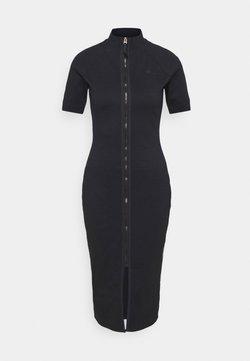G-Star - MOCK SLIM DRESS - Sukienka letnia - dark blue