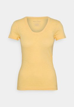 Marc O'Polo - TWISTED DEEP - T-Shirt basic - iced vanilla