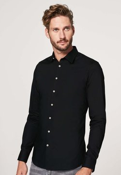 PROFUOMO - SUPER SLIM FIT - Hemd - zwart