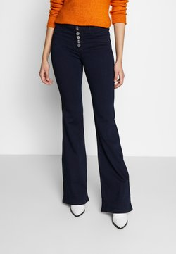 ONLY Tall - ONYHELLA RETRO FLARE  - Flared Jeans - dark blue denim