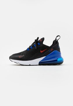 Nike Sportswear - AIR MAX 270 UNISEX - Sneakers laag - black/chile red/hyper royal/white