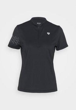 Ziener - NAMINTA LADY TRICOT - T-Shirt print - black